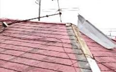 屋根の剥がれ画像