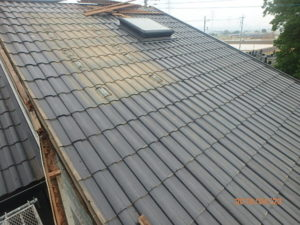 屋根葺き直し施工前