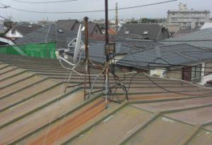 既存の屋根材の状態