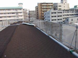 既存の屋根の全体の様子