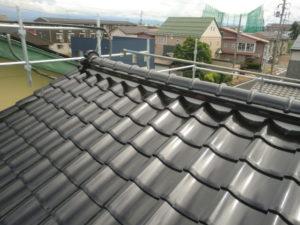 工事がすべて完了した状態の屋根