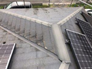 洗浄前の屋根