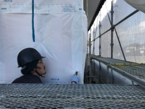 浸透防水シート張り