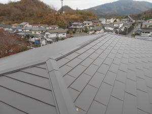 屋根重ね葺き完工