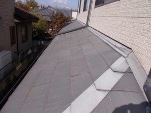 屋根をアップに見た時