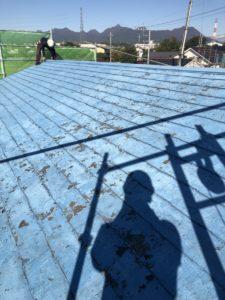 色褪せた屋根