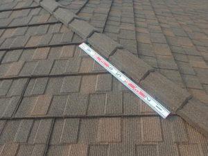 オベロン棟部分取り付け後の屋根