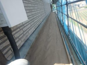 既存桟木撤去した屋根
