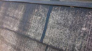 ヒビ割れた屋根を補修した後