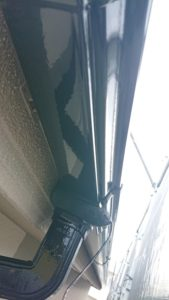 雨樋塗装二回目
