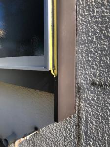 出窓枠板金巻き