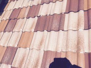 施工前の瓦屋根