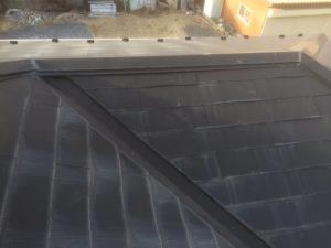 現調時のコロニアル屋根