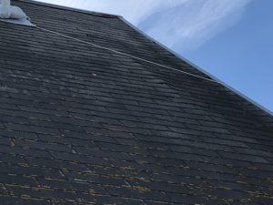 現調時の膨れ上がってる屋根
