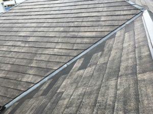 洗浄後の屋根