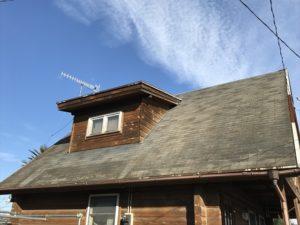 現調時の屋根西面