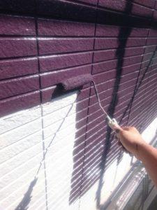 外壁塗装中