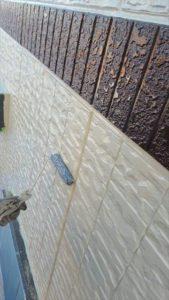 外壁塗り替え中