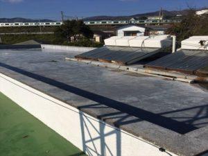 施工前陸屋根