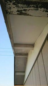 軒天井張り替え後