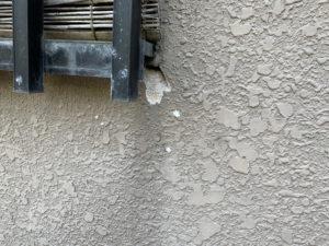 外壁の老化