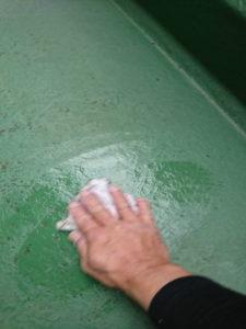 アセトン清掃