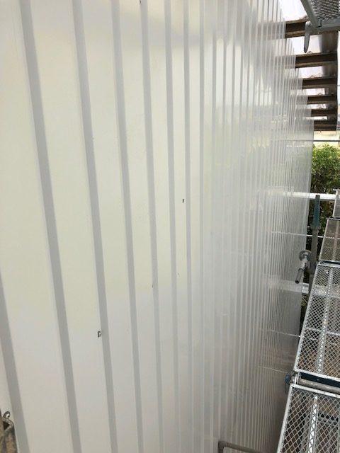 倉庫の外壁