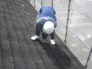 屋根カバー工法 役物撤去