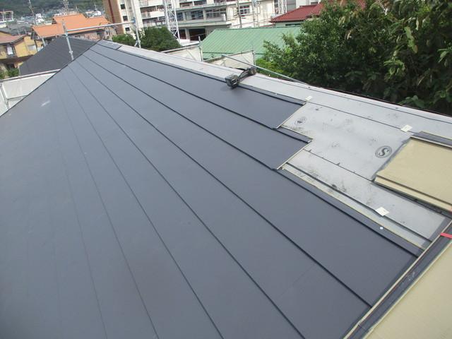 カバー工法 ガルバリウム鋼板
