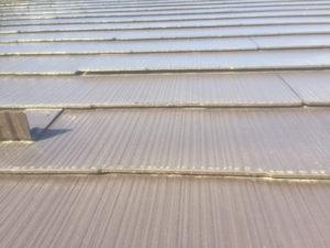 スレート屋根 反り