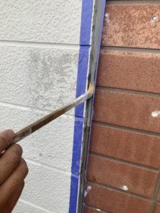 外壁 コーキング工事 プライマー塗布