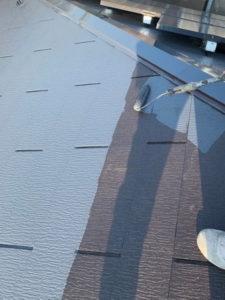 屋根 塗装 中塗り