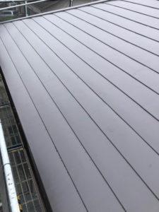 屋根 カバー工法 完成