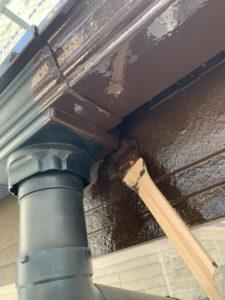 雨樋 取付 塗装
