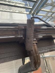 外壁 付帯部 塗装 雨樋