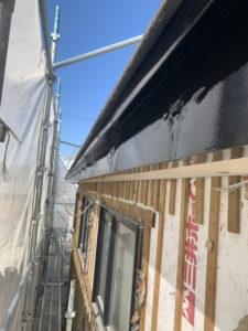 リフォーム 破風板 塗装 完了