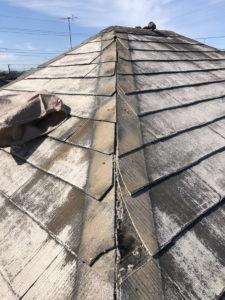 屋根カバー工法 棟板金・ぬき板撤去