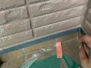 外壁塗装 付帯部塗装 水切り