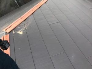 カバー工法工事 ぬき板施工