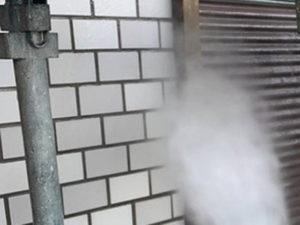 屋根と外壁のリフォーム 下地処理 高圧洗浄 壁