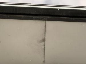 軒天カビが発生