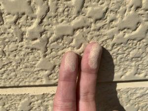 サイディング 外壁 劣化 チョーキング現象