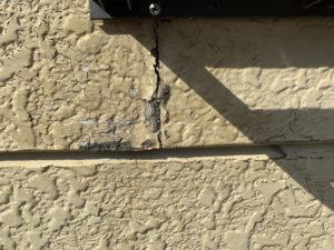 サイディング 外壁 劣化 ヒビ