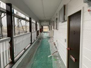 アパートリフォーム 外壁塗装 完成