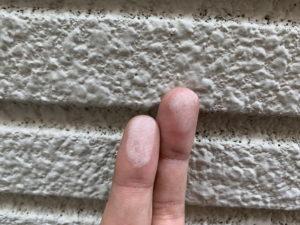 ALC外壁 劣化 チョーキング現象