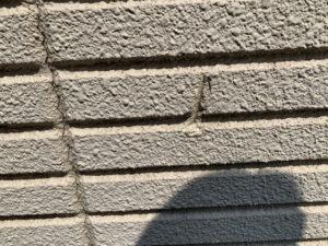 ALC外壁 劣化 ひび割れ 欠け