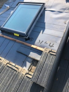 天窓雨漏り工事