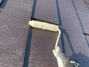 屋根塗装 下塗り