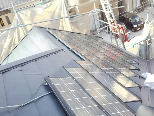 ソーラー設置2 20200901