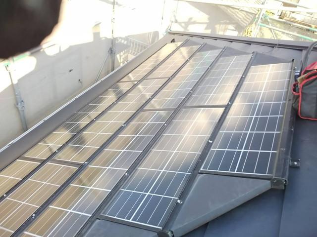 ソーラー設置3 20200901